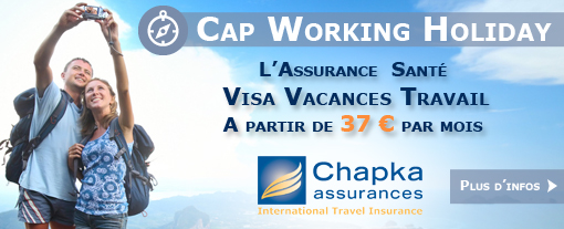 Cap Working Holiday